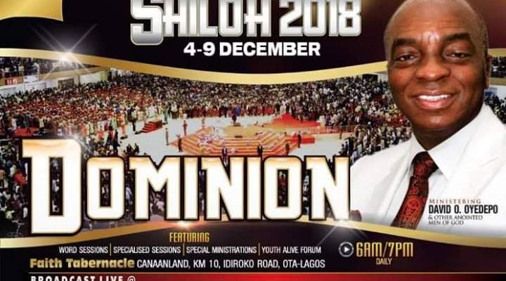 Shiloh 2018 – Day 5: Impartation of the Spirit of Dominion Service