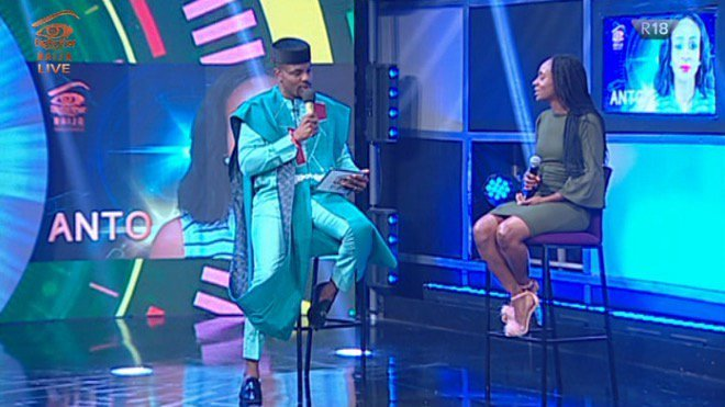 bbnaija sunday live eviction show