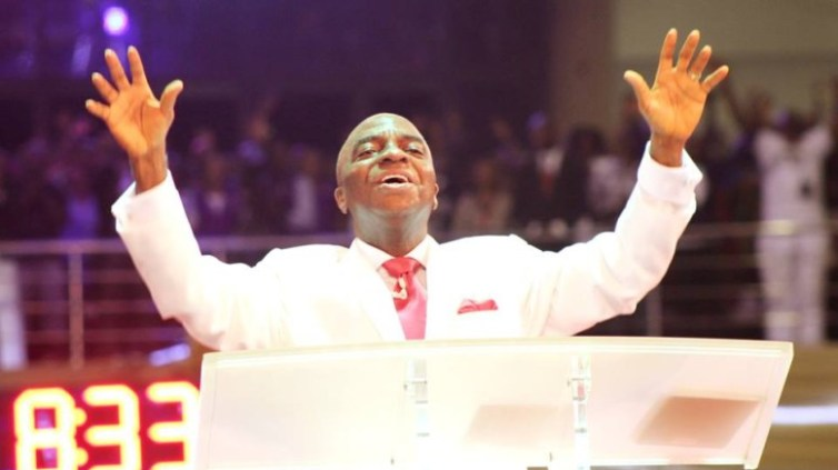 shiloh Bishop Oyedepo declaring shiloh 2018