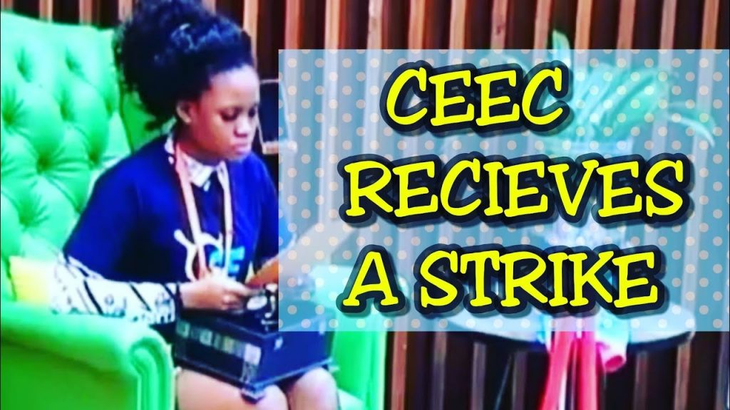 BBNaija 2018: Cee-C draws her last straw